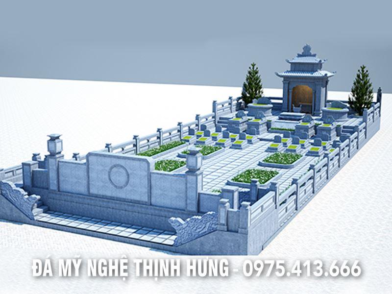 Khu Lăng mộ gia tộc họ Mai ở Thanh Hóa, đẳng cấp và vượt trội với đầy đủ các hạng mục.