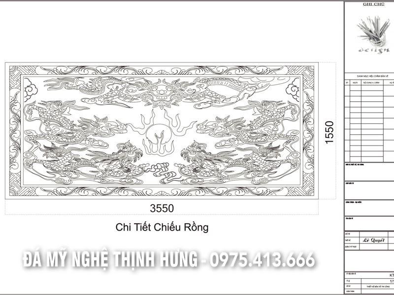 Chi tiet Ban ve Chieu Rong da DEP cua Da Thinh Hung