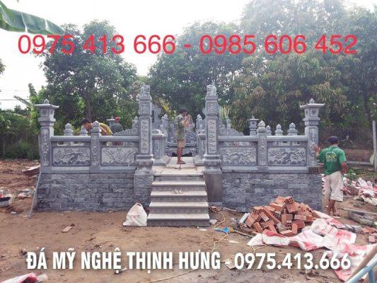 Chi tiet Khu lang mo da DEP = Mau Lang mo dep tai Dong Thap