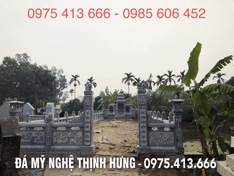 Chinh dien Khu lang mo da DEP tai Ly Nhan Ha Nam