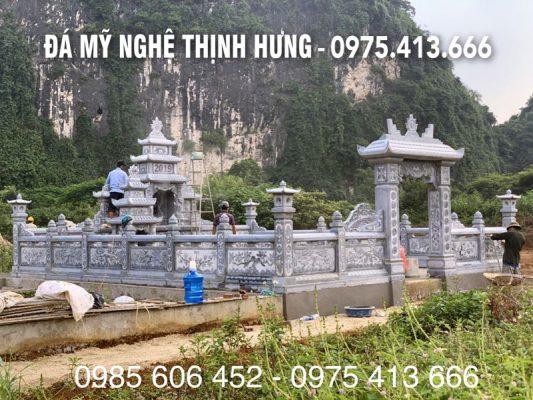 Day la Khu Lang mo da DEP - Lang mo DEP cua Nghe nhan Le Quang Sy thiet ke