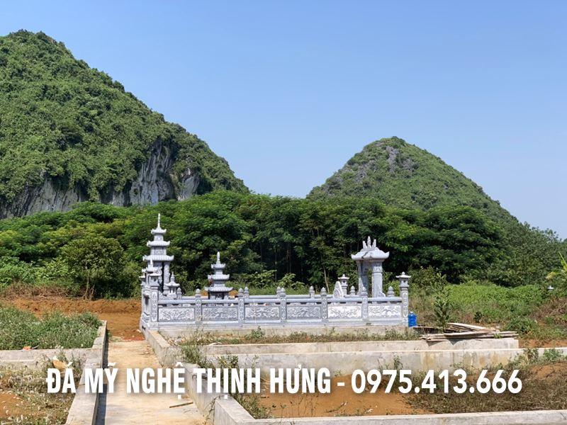 Duong vao Khu lang mo dep tai Tam Diep Ninh Binh