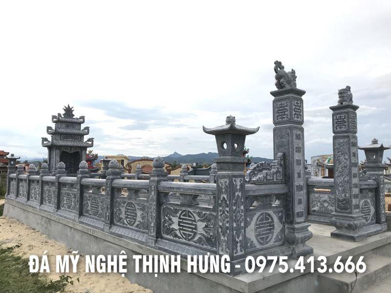 He thong Lan can da - Tuong rao da Khu Lang Mo