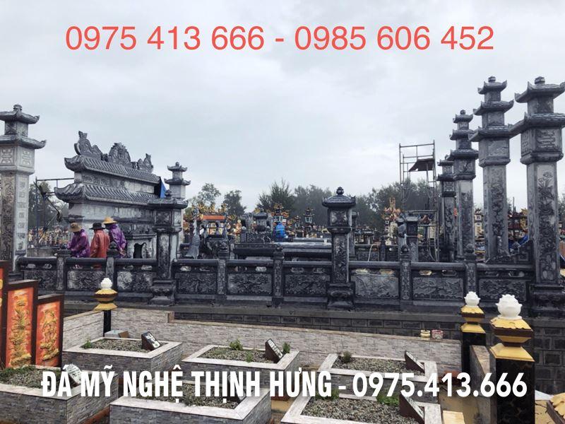 Khu Lang mo DEP tai Phong Dien - Hue