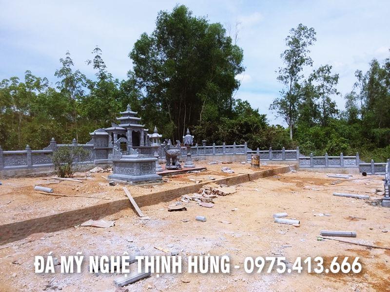 Khu lang mo da mang dam Thuong hieu Da my nghe Thinh Hung