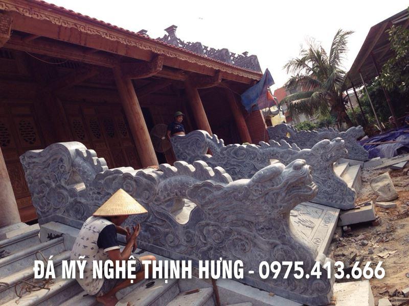 Lam Rong da - Chieu Rong da - Bac them da cho Nha tho ho