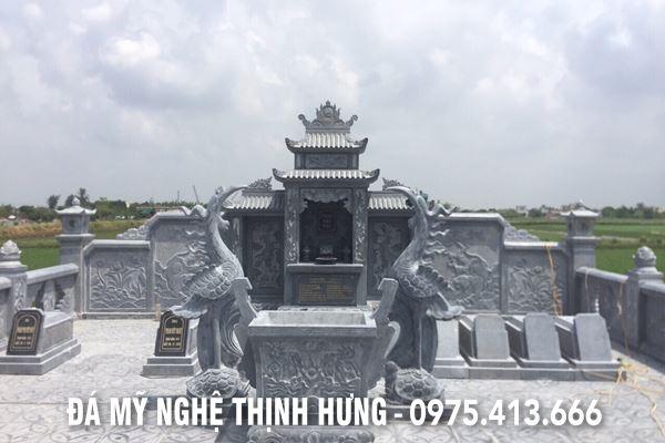 Lăng mộ đá cao cấp - Đá mỹ nghệ Thịnh Hưng