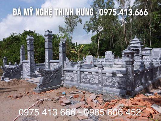 Mẫu Lăng mộ đá ĐẸP tại Đồng Tháp - Lăng mộ đẹp Đá mỹ nghệ Thịnh Hưng