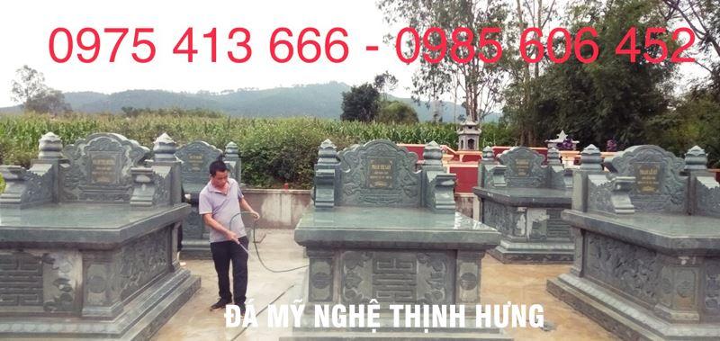 Mo da dep Ninh Binh - Mau mo da xanh reu