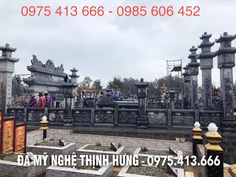 Mot khu lang mo da DEP dien hinh tai Xu Hue
