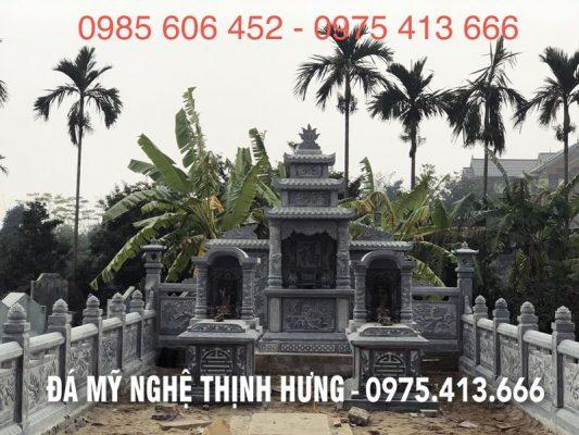 Khu lăng mộ đẹp với Phan Lang tho da va Hai ngoi mo da Don mai Vom DEP