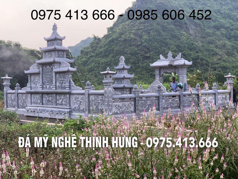 Phia Sau khu Lang mo da DEP tai Tam Diep Ninh Binh