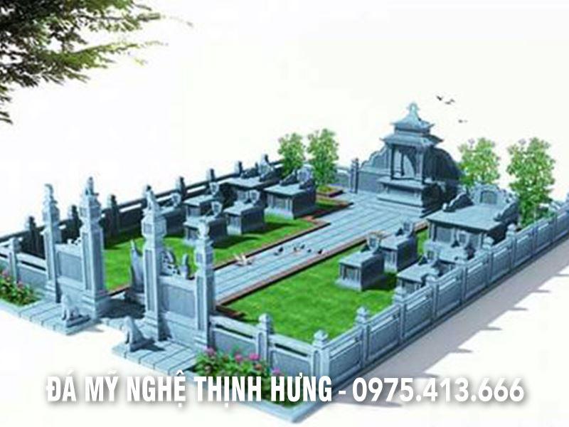 Thiết kế Lăng mộ gia tộc đẹp tại Ninh Bình