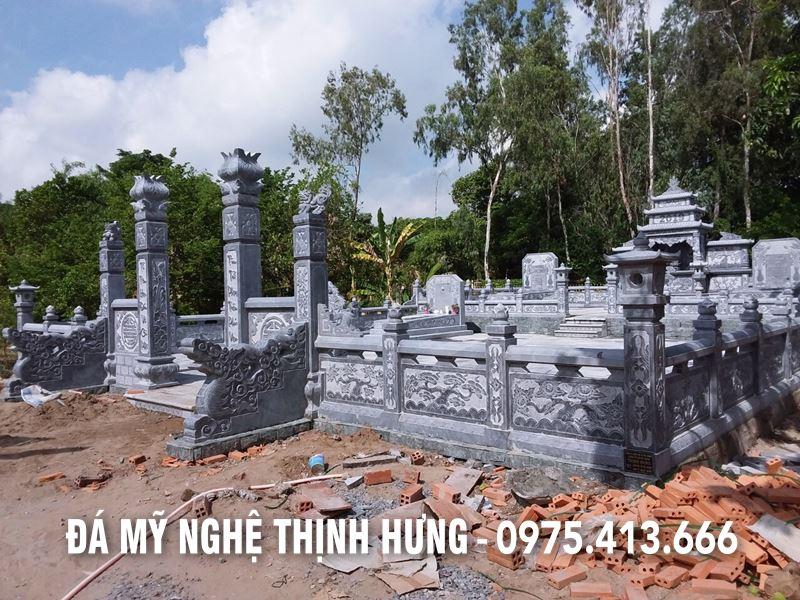 Toan canh Khu Lang mo da Chu Muoi tap doan Hoang Long o Hong Ngu - Dong Thap