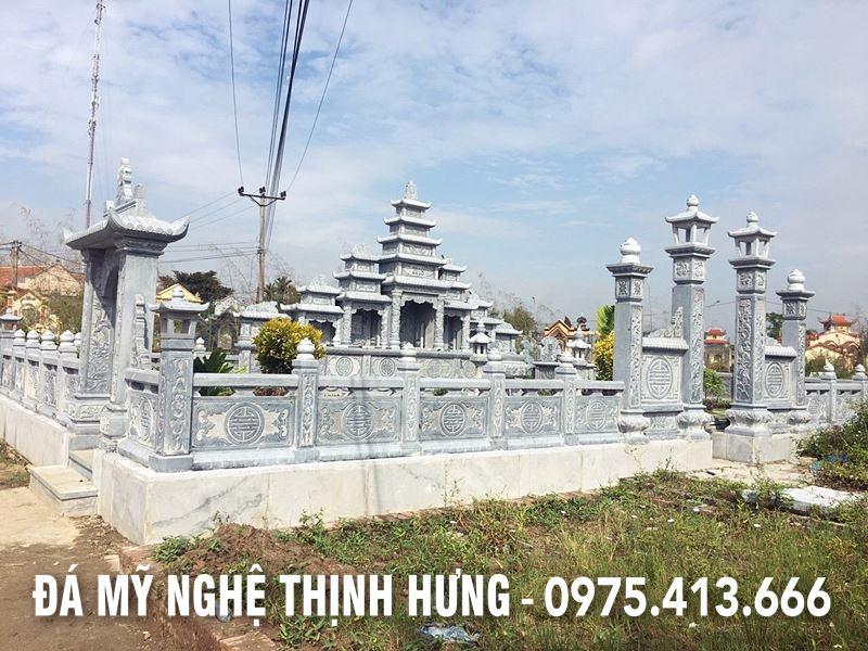 Lan can da DEP cho khu Lang Mo da 5 mai