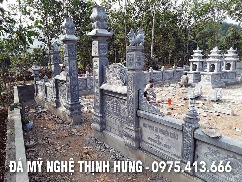 Lan can da DEP cua Khu Lang mo Nguyen Xuan