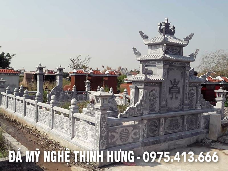 Lan can da DEP cua Khu lang mo da tron