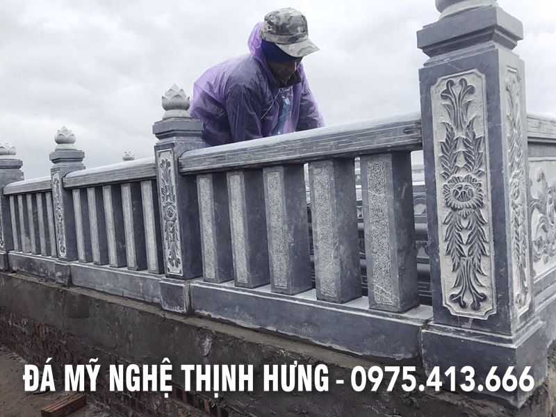 Mau Lan can da - Con tien lan can da DEP cua Khu lang mo da