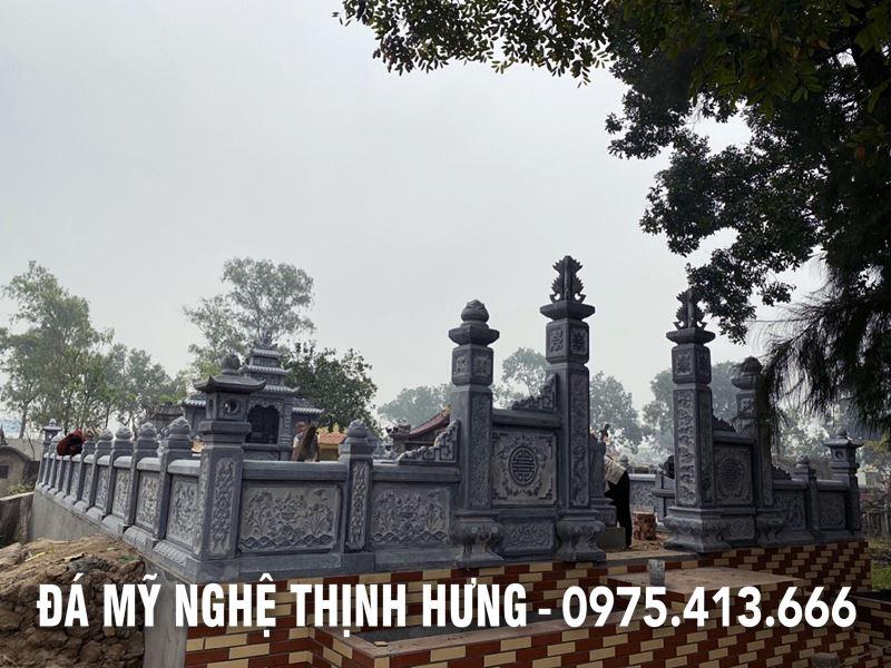 Thi cong Lan can Da Khu lang mo da DEP cao cap nam 2020