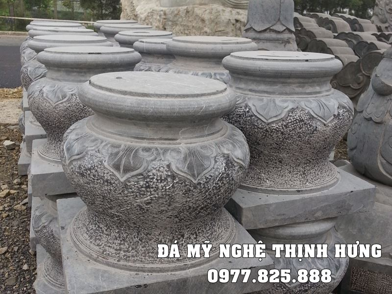Làm Chân tảng đá tại Thái Bình