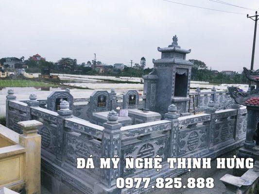 Xây Lăng Mộ Đá đẹp tại Hưng Yên