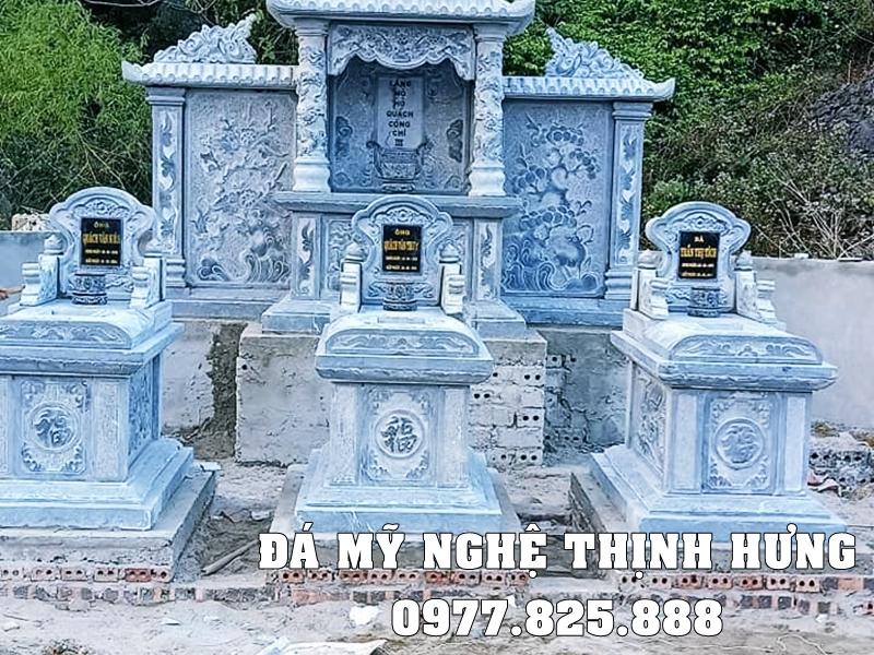 Xay dung Khu Lang Mo Da ho Quach Cong