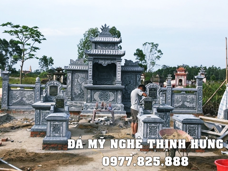 Xay dung Lang Mo Da don DEP tai Hai Phong