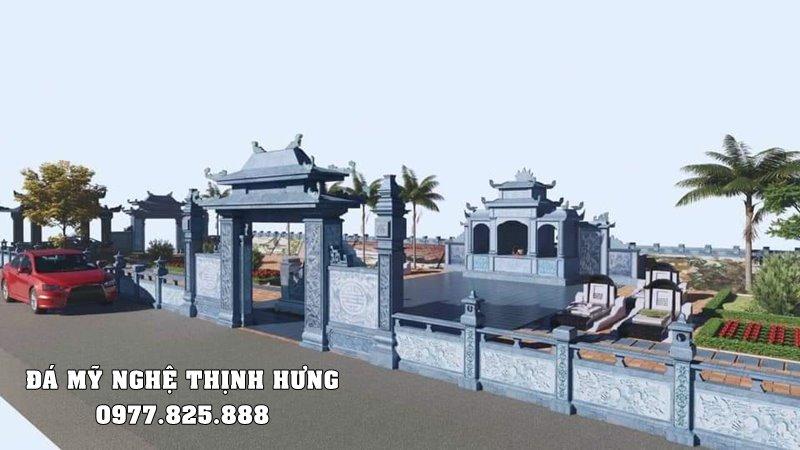 Thiet ke - Xay dung - Bao gia Lang mo da dep tai Ninh Binh
