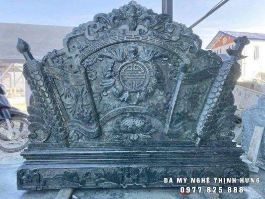 Mẫu Cuốn thư Ngũ phúc lâm môn đẹp tại Lăng mộ đá xanh Ninh Bình