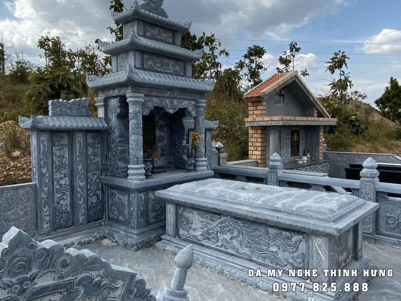 Mẫu Mộ đá tam sơn đẹp Thịnh Hưng 2021