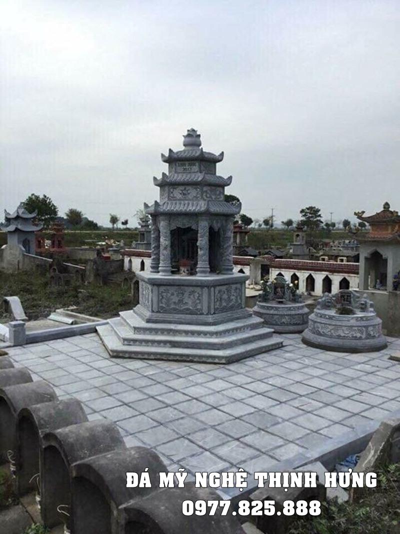 Xay Lang mo da Luc giac dep tai Ninh Binh