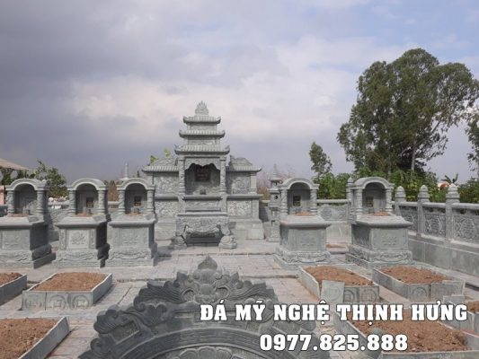 Khu Lang Mo Da dep Ninh Binh - Da xanh ngoc chat luong cao