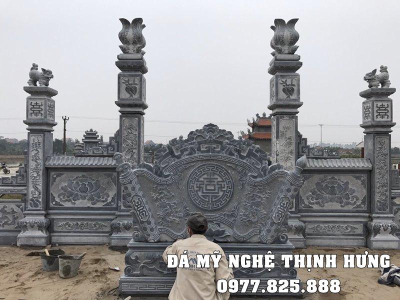 Lap dat Binh Phong Da cho Khu Lang Mo