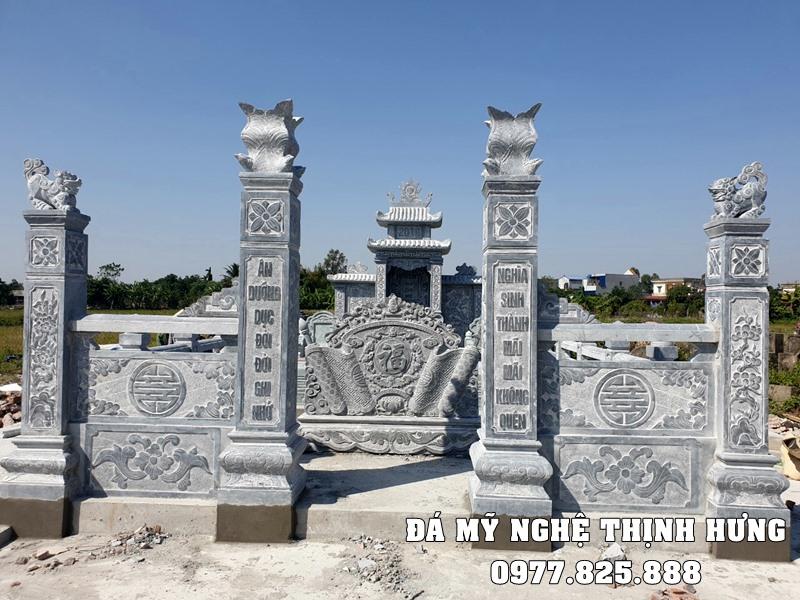 Cong Da DEP cua Khu Lang Mo DEP Pham Gia Chi Mo