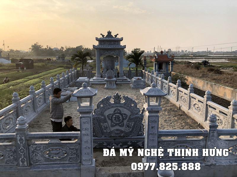 Lăng đá - Xây Lăng mộ đá đẹp tại Ninh Bình.
