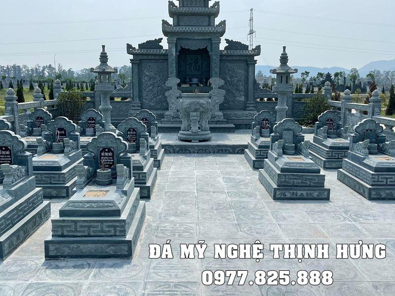 Mau lang mo da xanh reu tai Nam Dinh