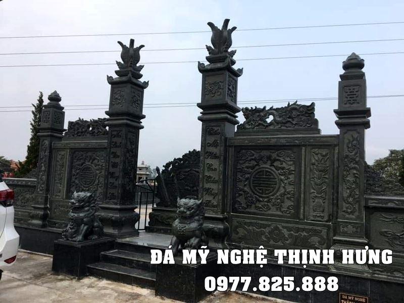 Mẫu Cổng đá đẹp Thịnh Hưng Ninh Bình.