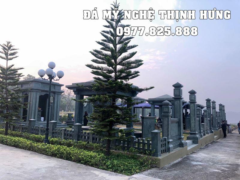 Thiet ke Lang mo da dep tai Da my nghe Thinh Hung Ninh Binh