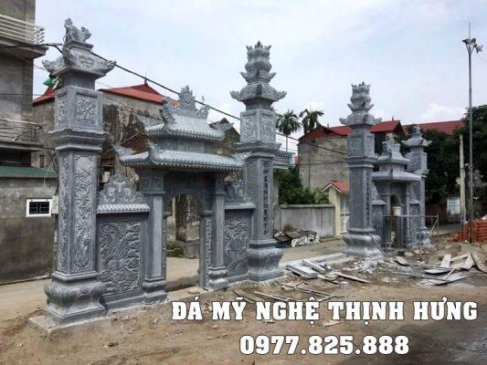 Xay Cong da - Cong da dep nguyen khoi Ninh Binh