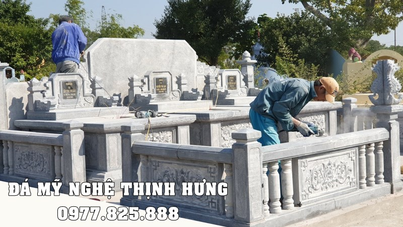 Xây dựng Lăng Mộ đá đẹp tại Ninh Bình.