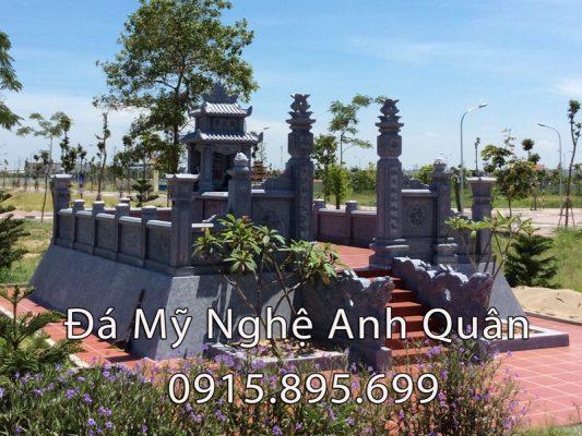Cong trinh Khu lang mo da cu to ho Nguyen Huu